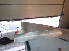 Preparing glass fiber