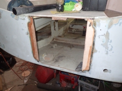 Wood adjustments for new hatches