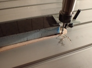 Milling excess material