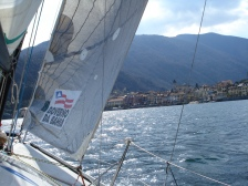 """Sailing upwind through the famous """"INVERNA"""""""