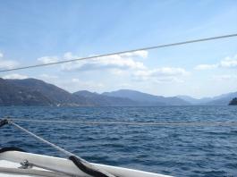 Landing in Luino